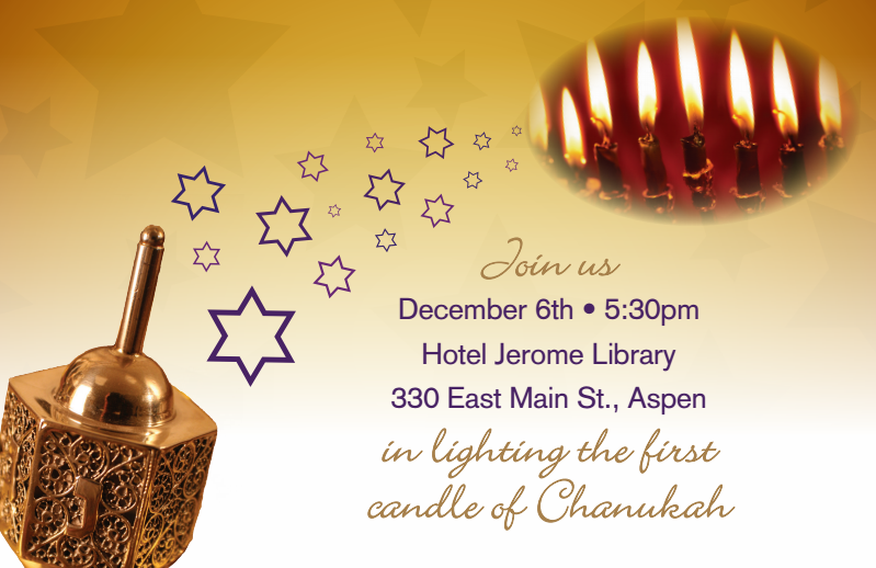 Chanukah with Neshama Center Aspen
