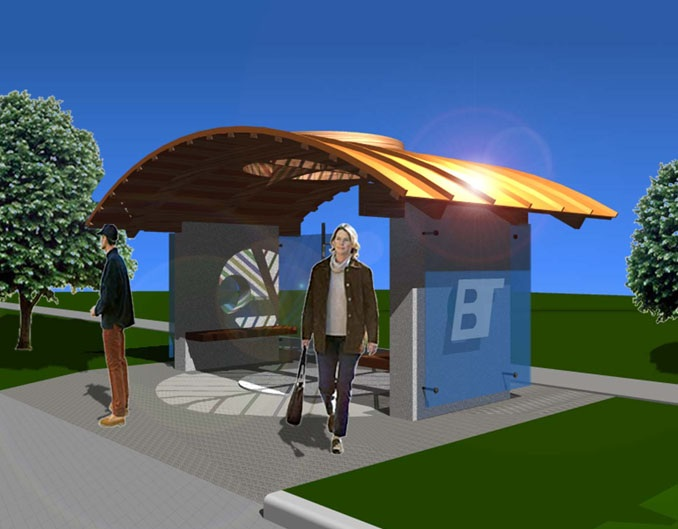 BLOOMINGTON BUS SHELTER COMPETITION
