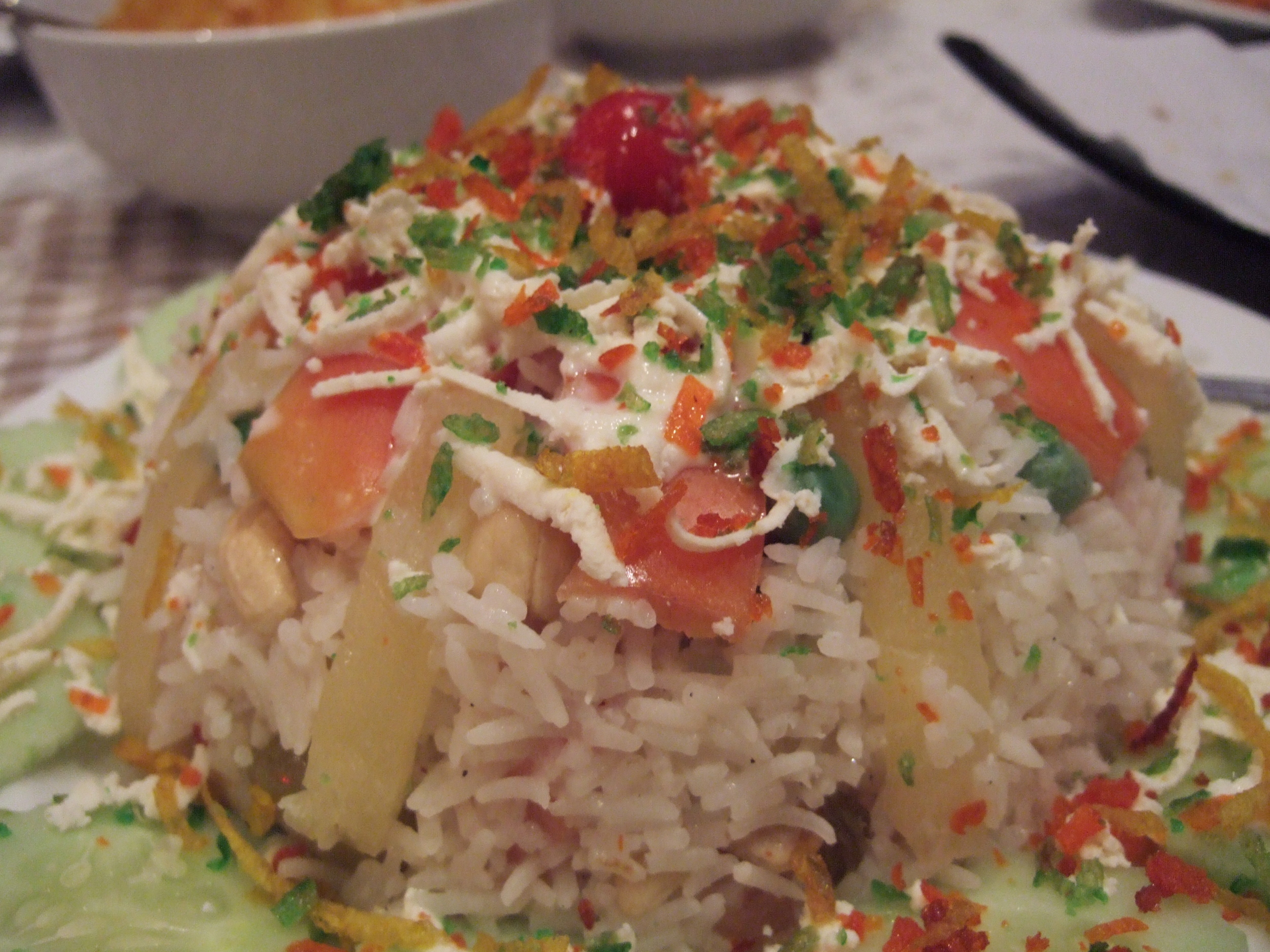 Pulao rice from Rashmi's Indian Restaurant.JPG