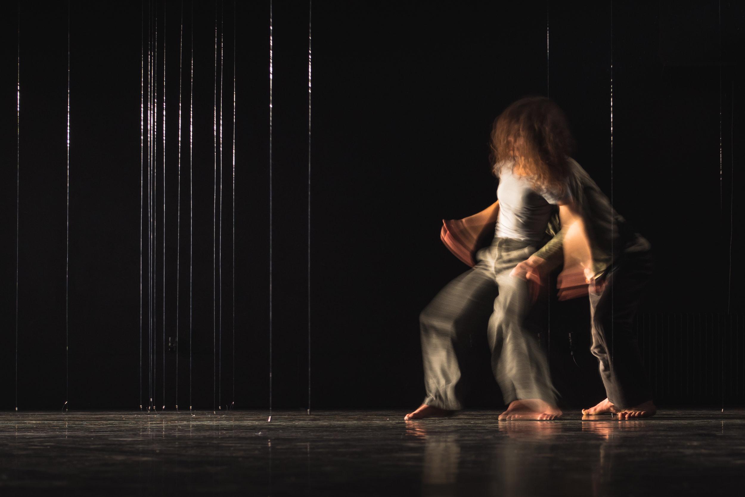 Matevž Dobaj & Neus Barcons Roca: TJA. BLIZU… / THERE. NEARBY… - Prvenec PTL 2018 / Dance Debut PTL 2018, Foto / Photo: Drago Videmšek