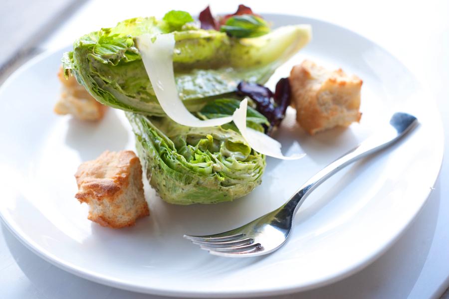 Ceasar Salad with Foccatia Crutons