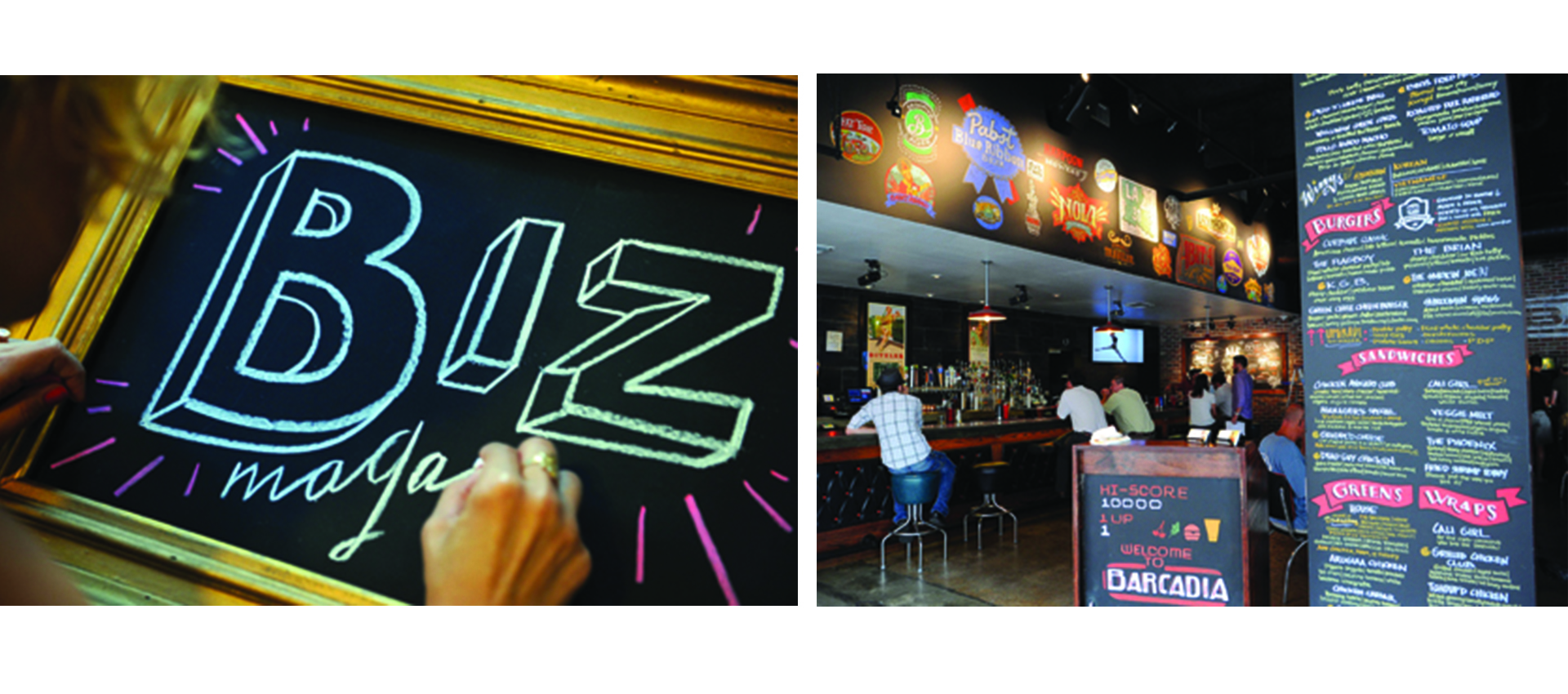 "Biz New Orleans - ""Small Chalk Attracts Big Names"""