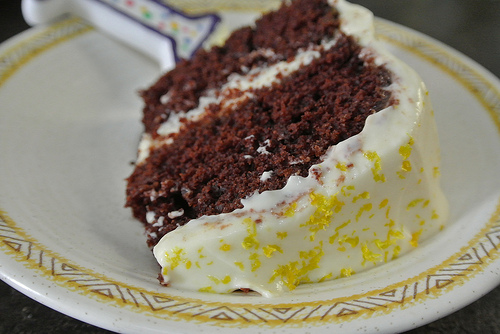 chocolate layer cake with mimosa creamsicle frosting slice detail.jpg