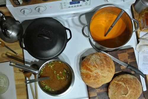 post-thanksgiving 2013 soup and bread.jpg