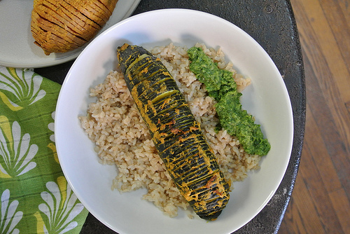 curried hasselback zucchini table.jpg