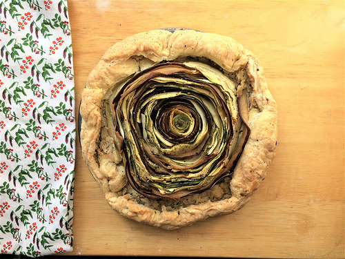 rosette veggie tart with almond pate table.jpg