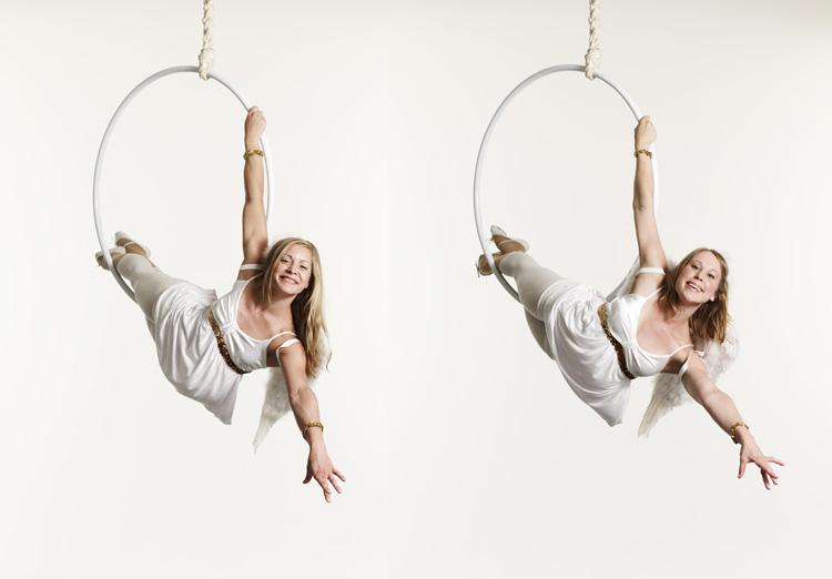 Lilli & Sara Aerial Hoop