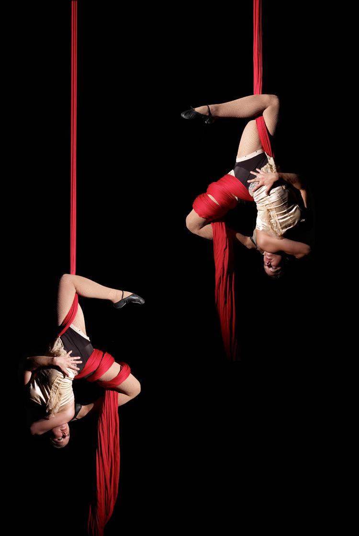 Lilli & Sara Aerial Silks