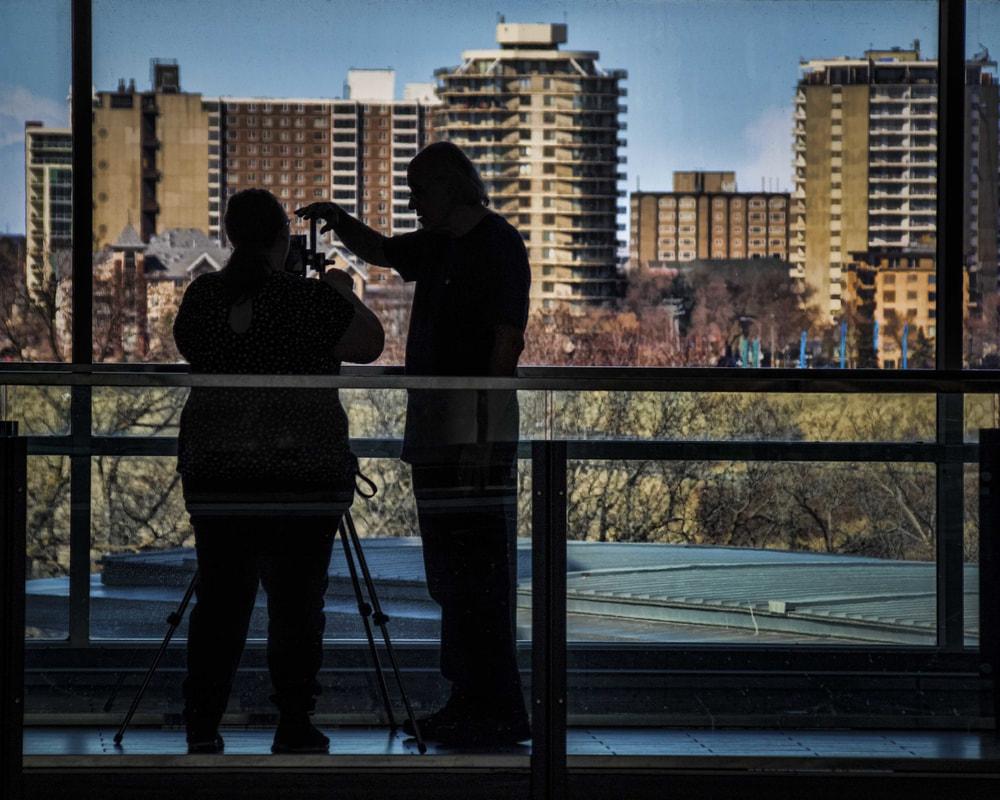"""© Robert Burkholder """"University of Alberta Centennial Centre for Interdisciplinary Science"""""""