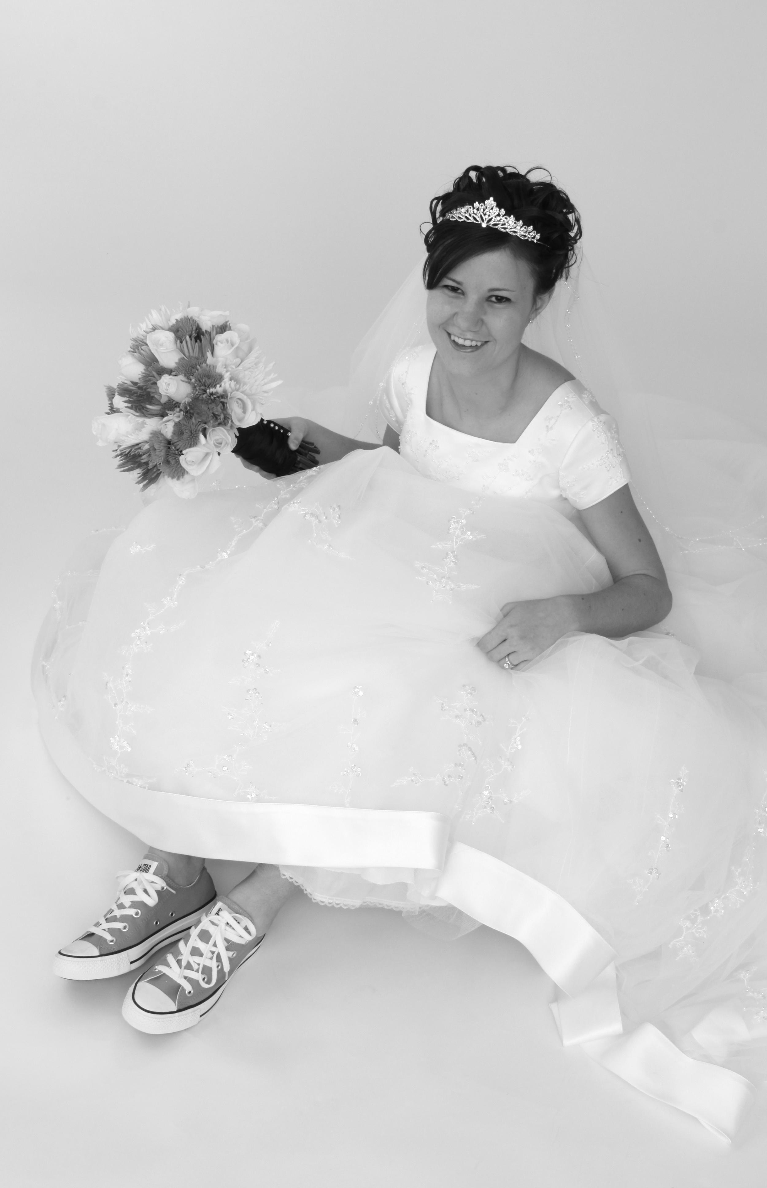 Bountiful wedding portrait studio photography