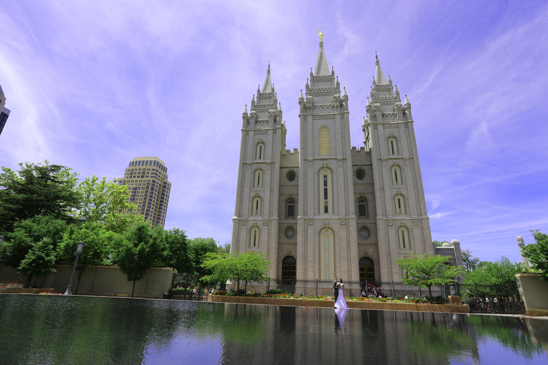 Salt Lake LDS Wedding Photography