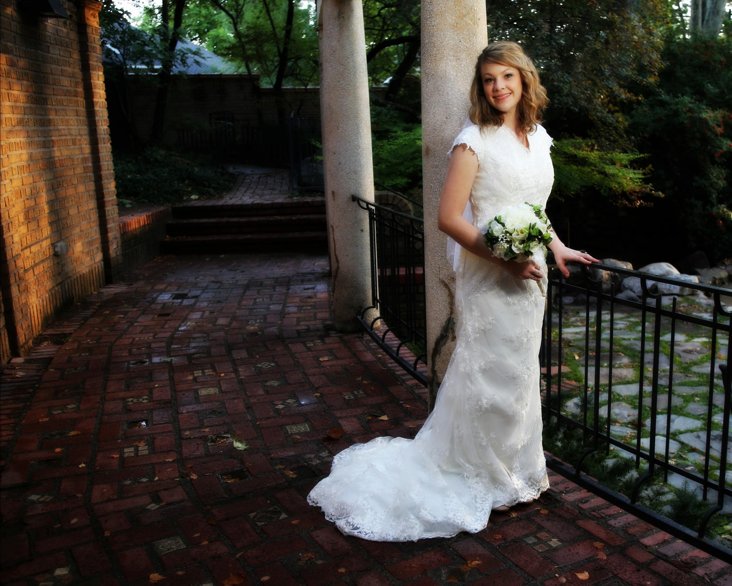 Bountiful wedding Bridal photography