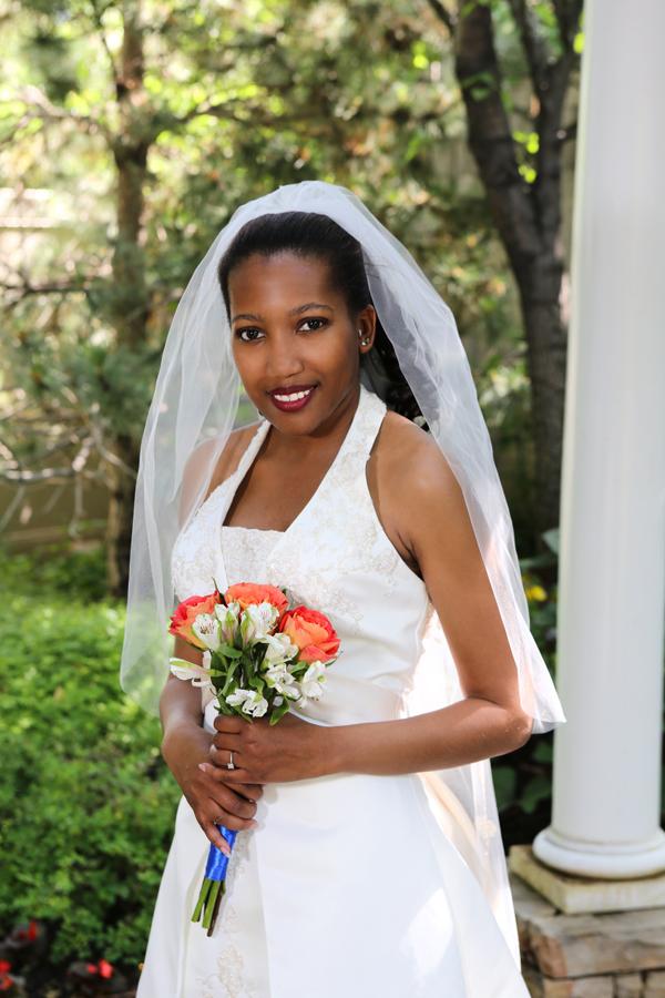 Bountiful wedding photography at the indoor/garden studio