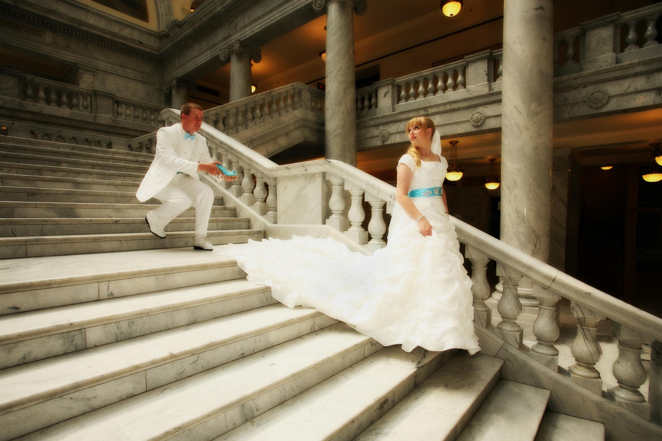 Groomal wedding photography Salt Lake Utah State Capital