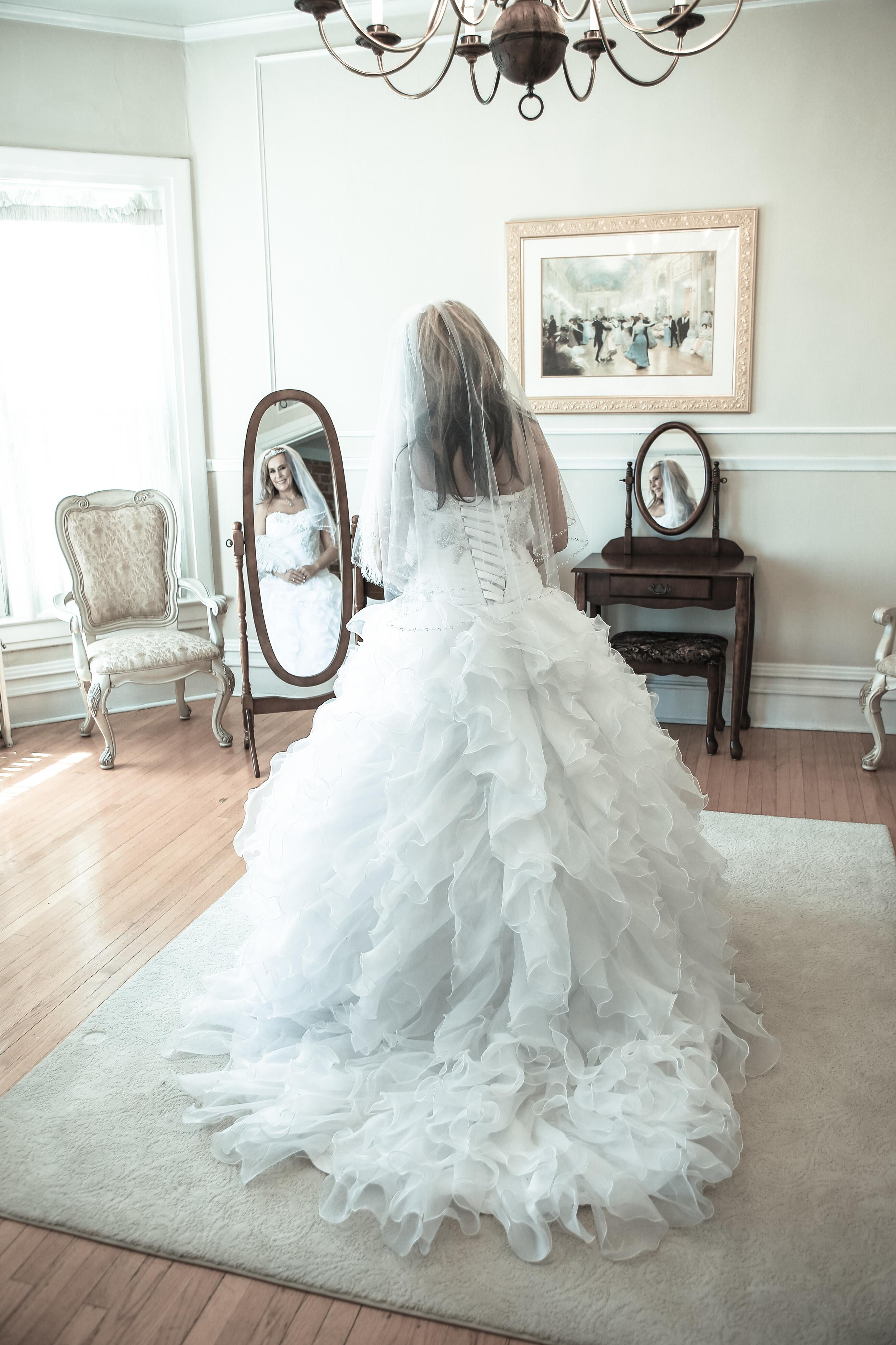 Bountiful wedding photography reception bride