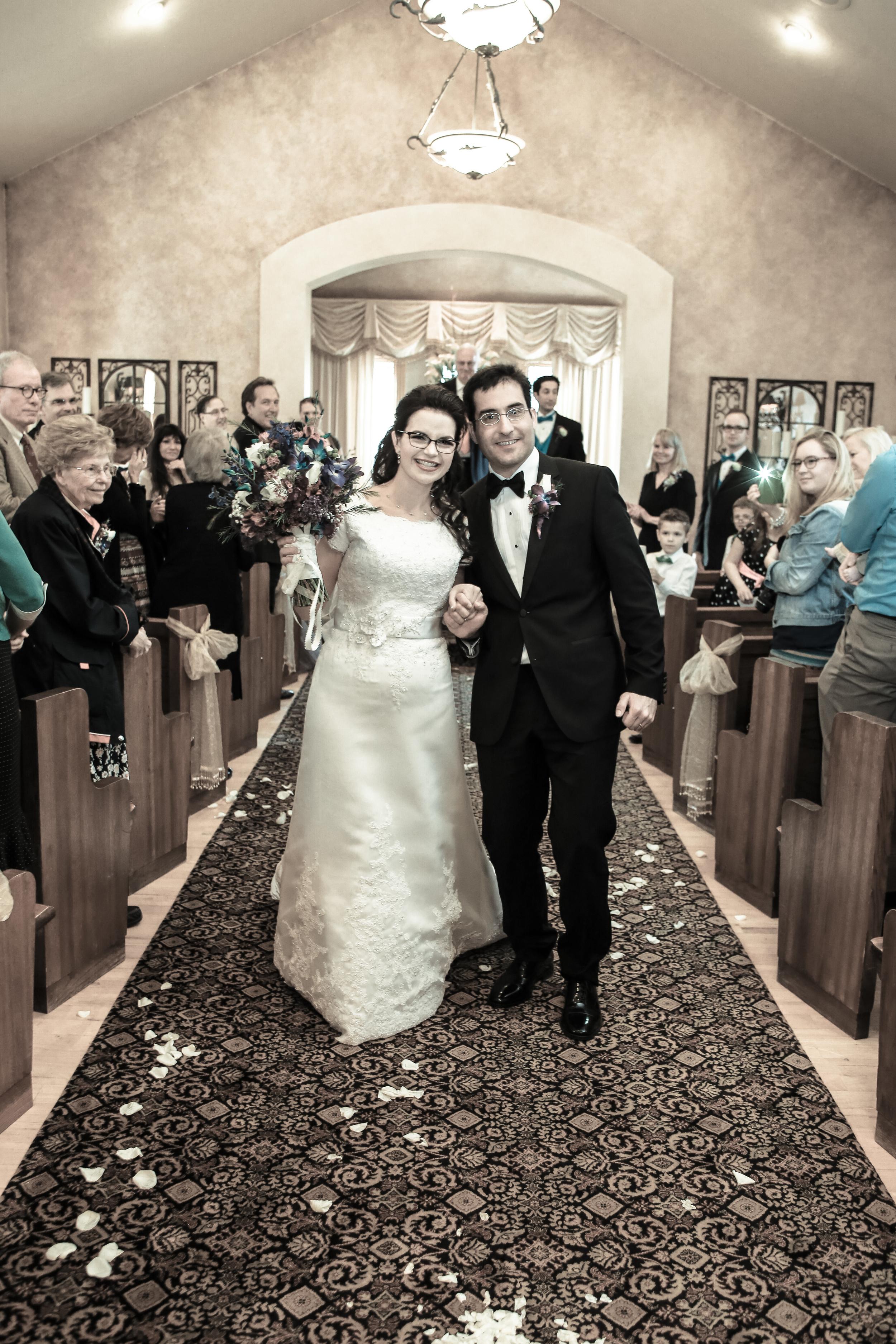 Utah Wedding at reception center