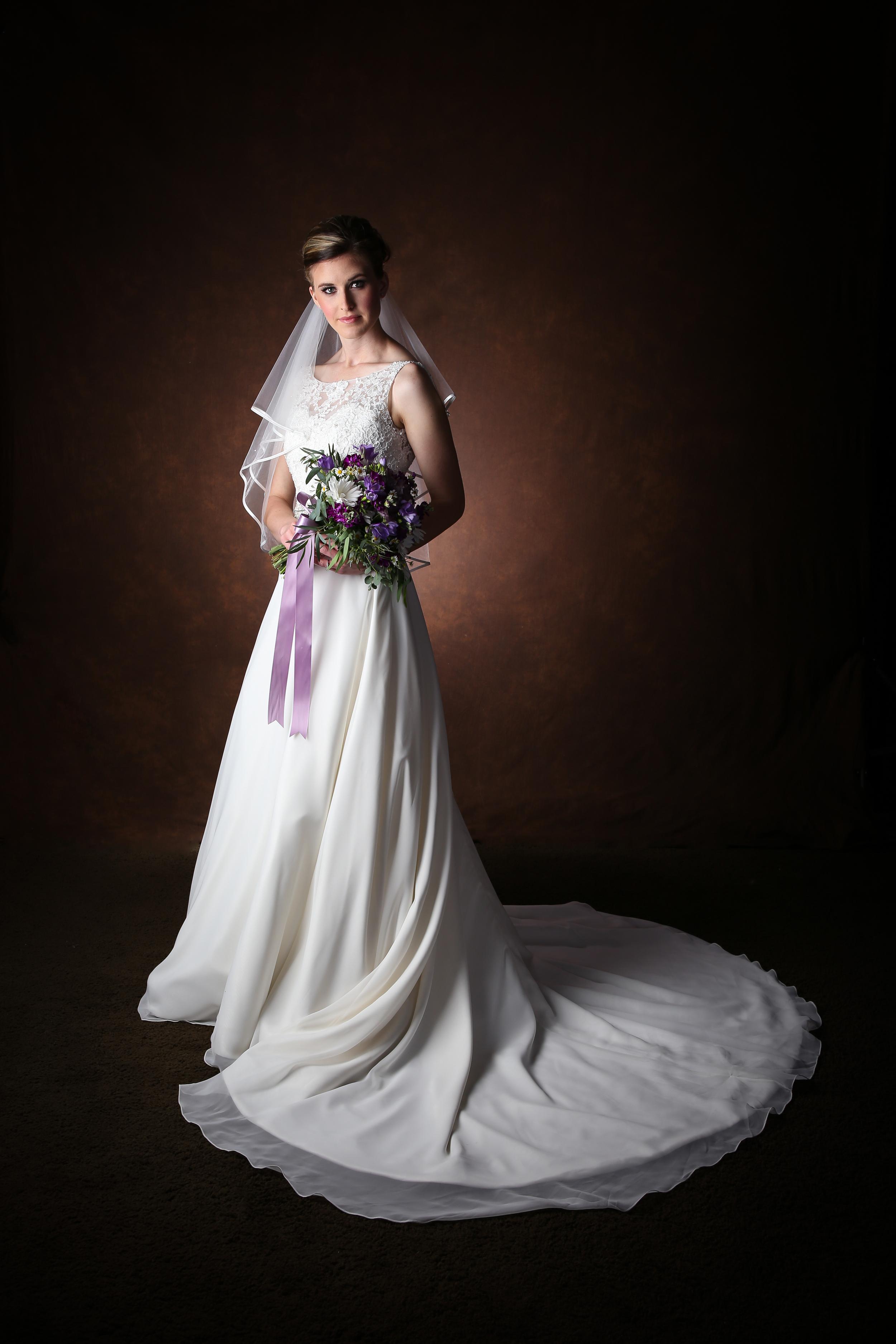 Bountiful Wedding studio Bridal photography