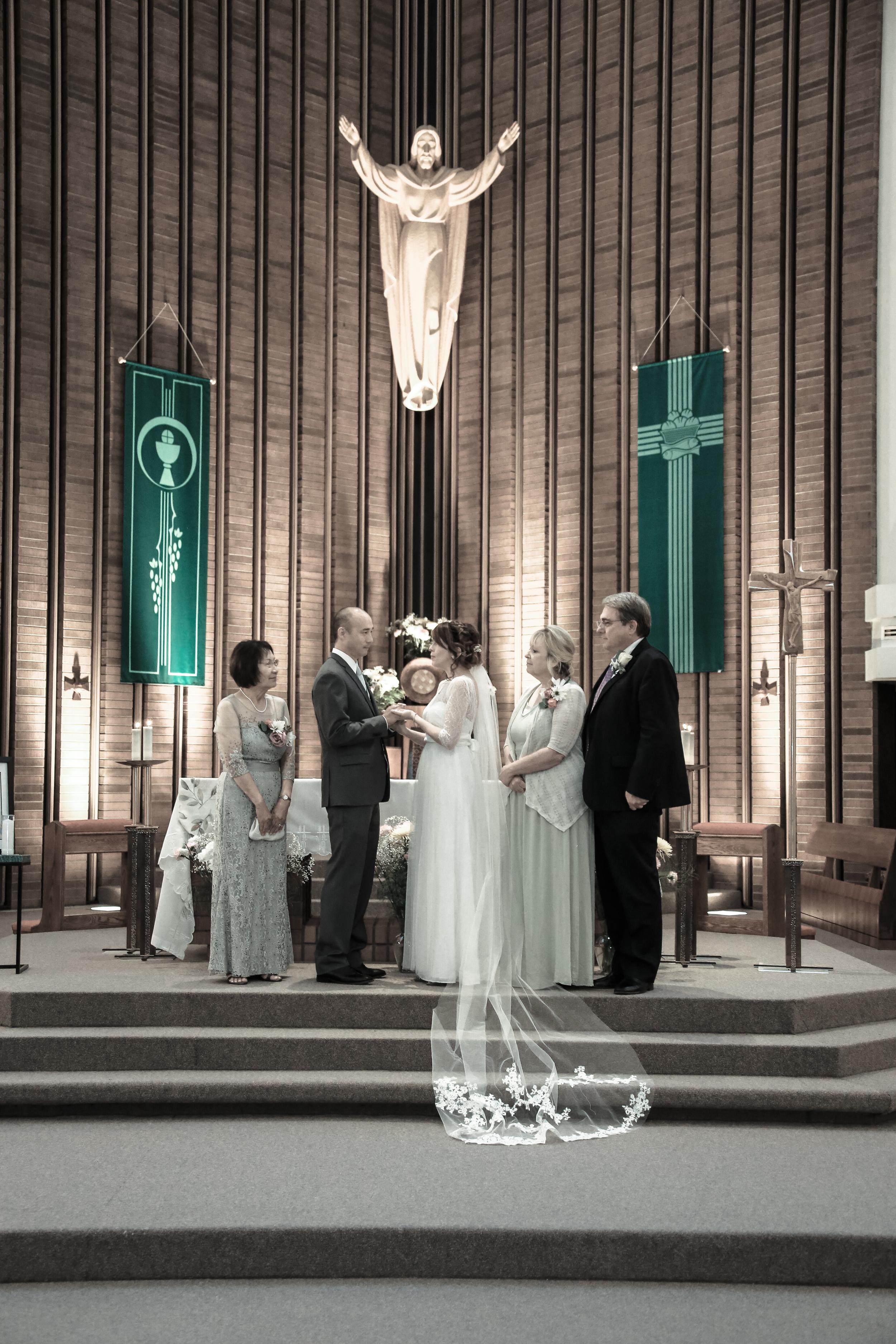 Salt Lake wedding ceremony photography