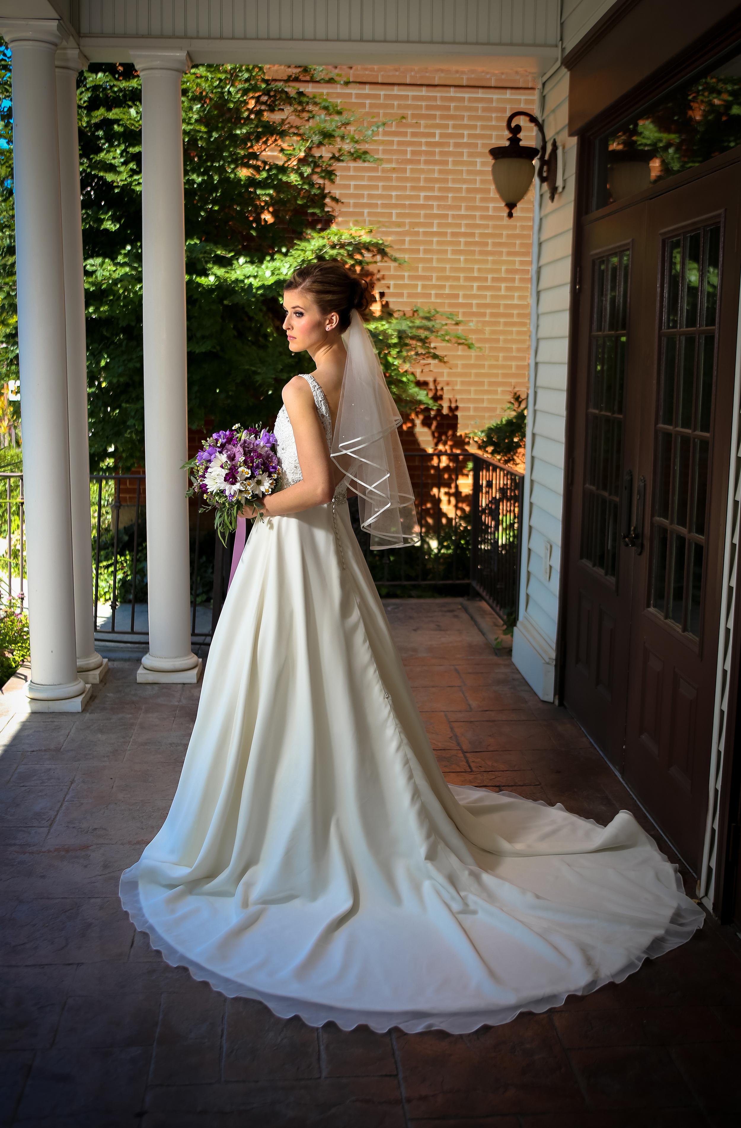Bountiful Bridal wedding portrait