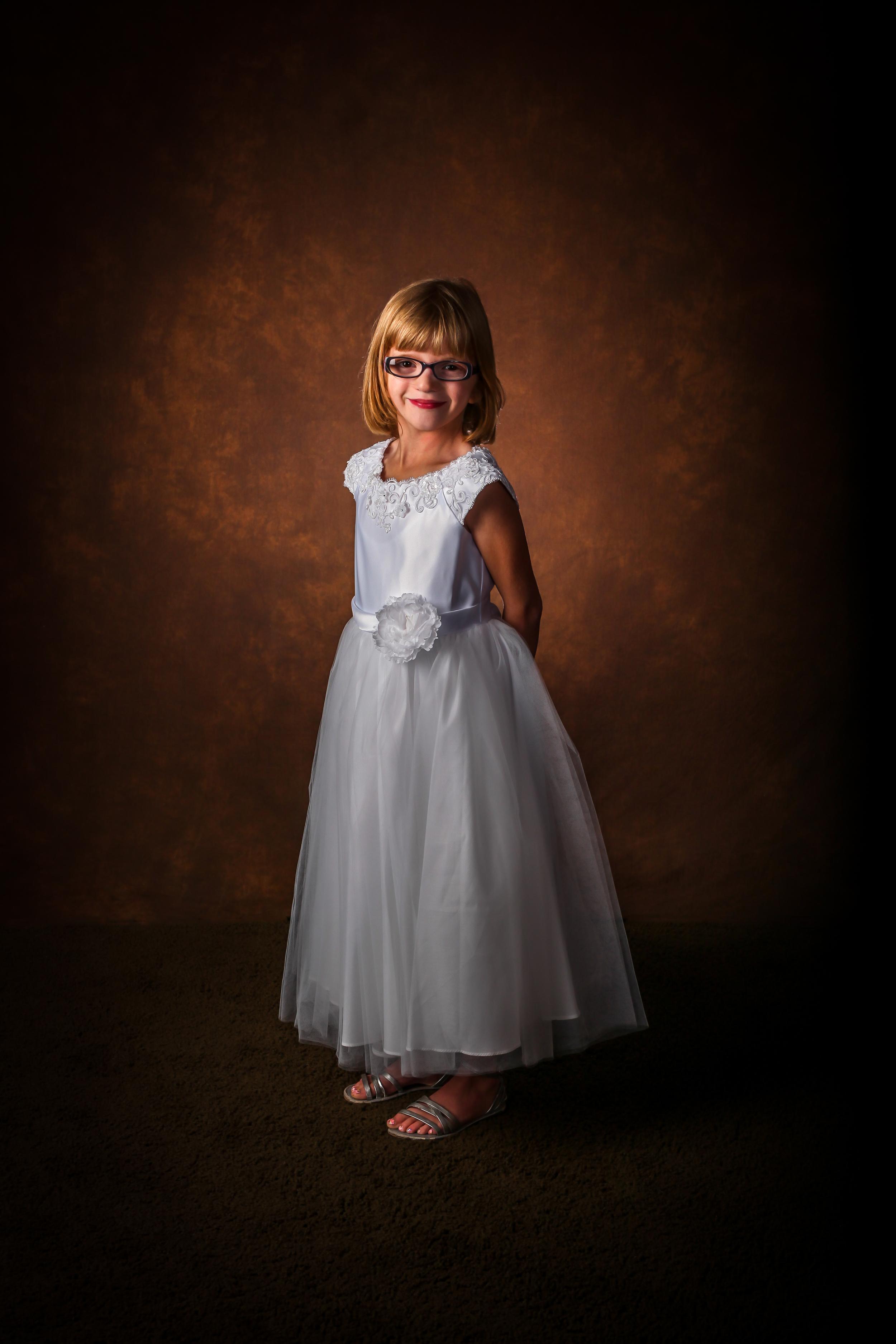 Bountiful portrait studio Baptism photography