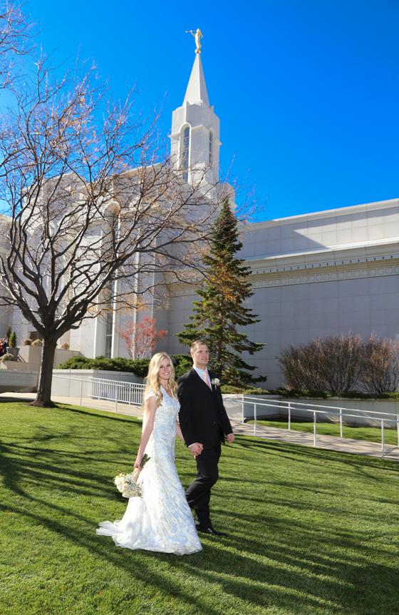 Bountiful wedding Temple photography