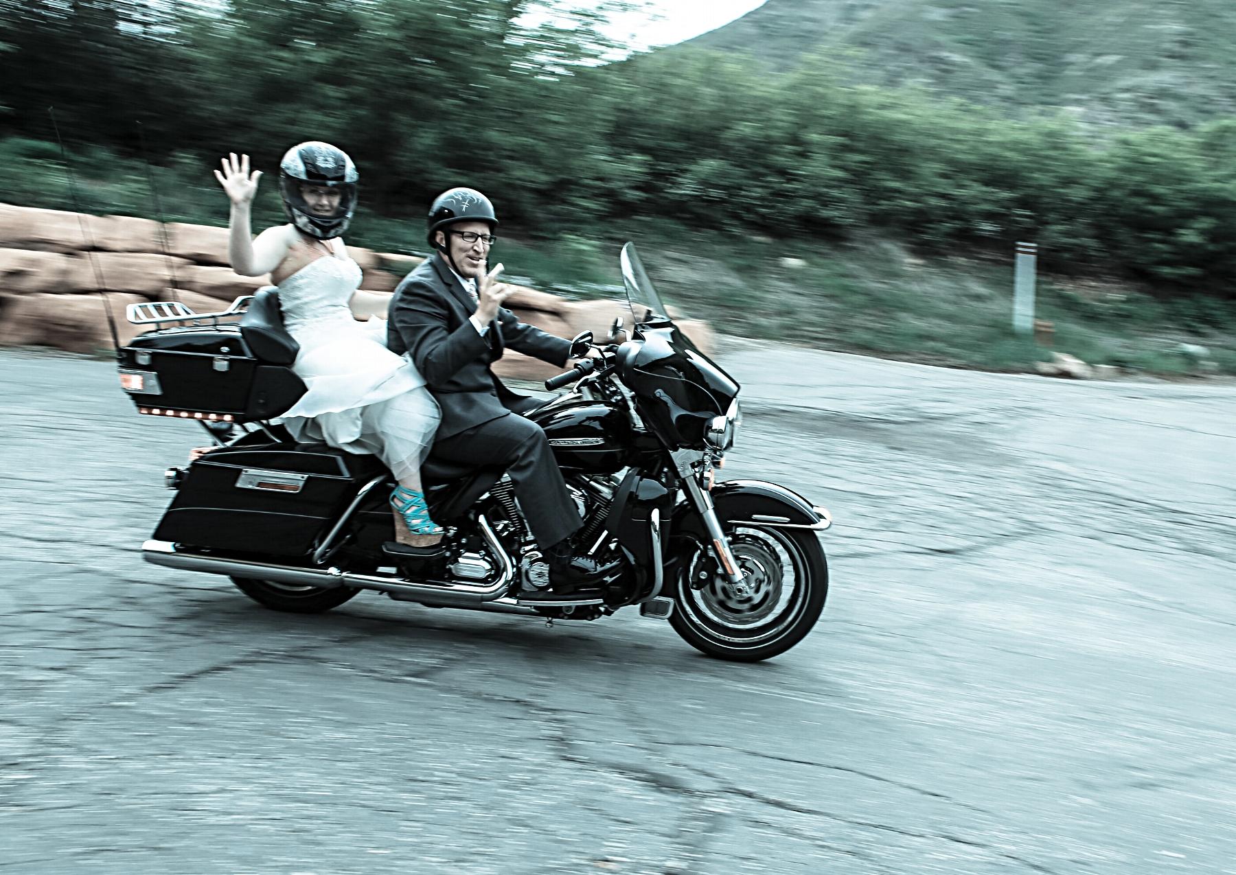 Salt Lake wedding photography send off