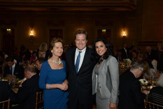 Kati Marton, Congressman Michael Turner, and Majida Mourad of Cheniere Energy