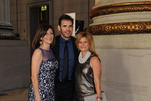 RI Board Members: Jodi Bond and Matt Dillon with Melissa Maxfield of Comcast