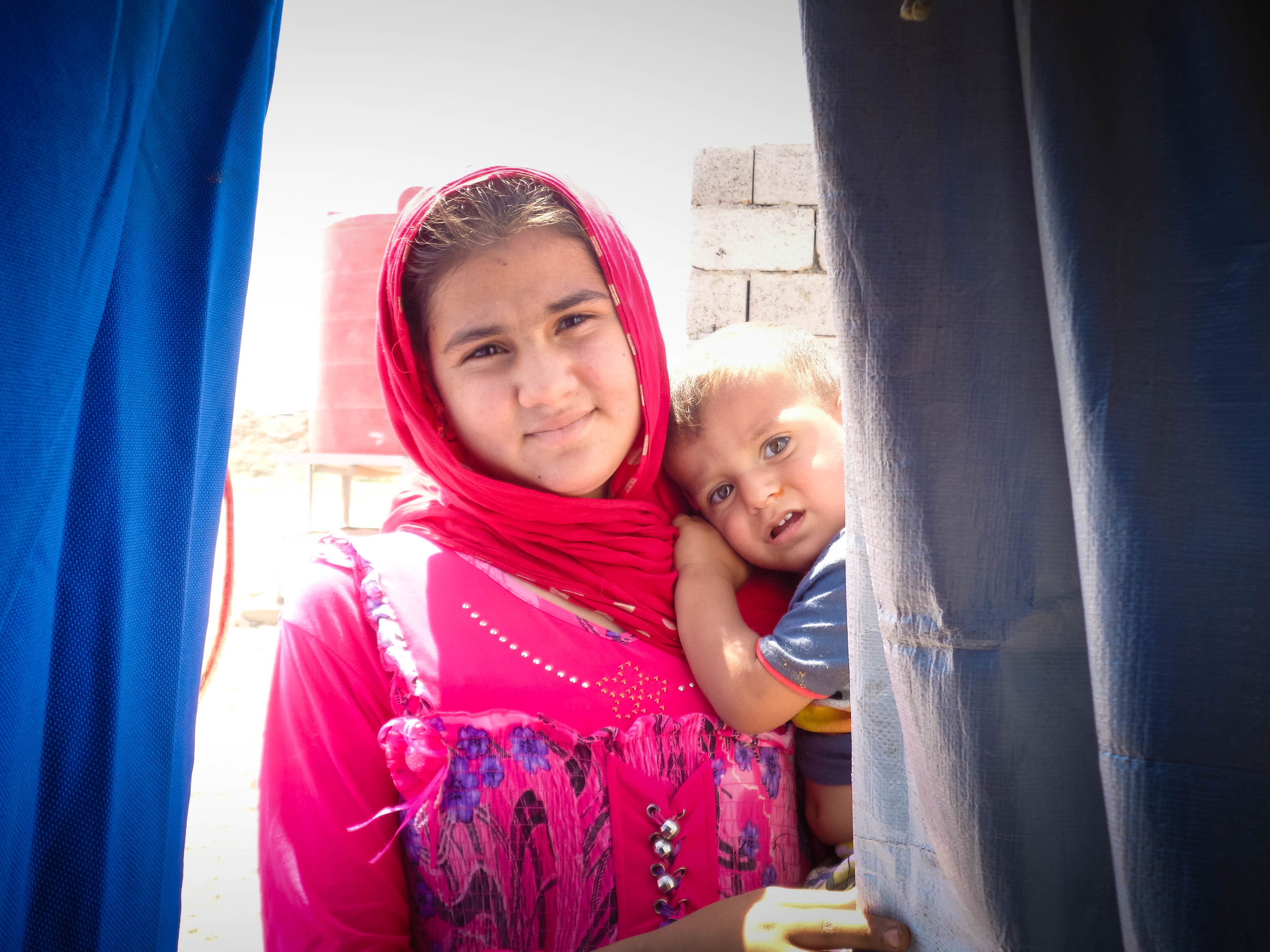 Camps that are not served by the Iraqi government of by the United Nations and its partners depend upon donations from the communities hosting them.