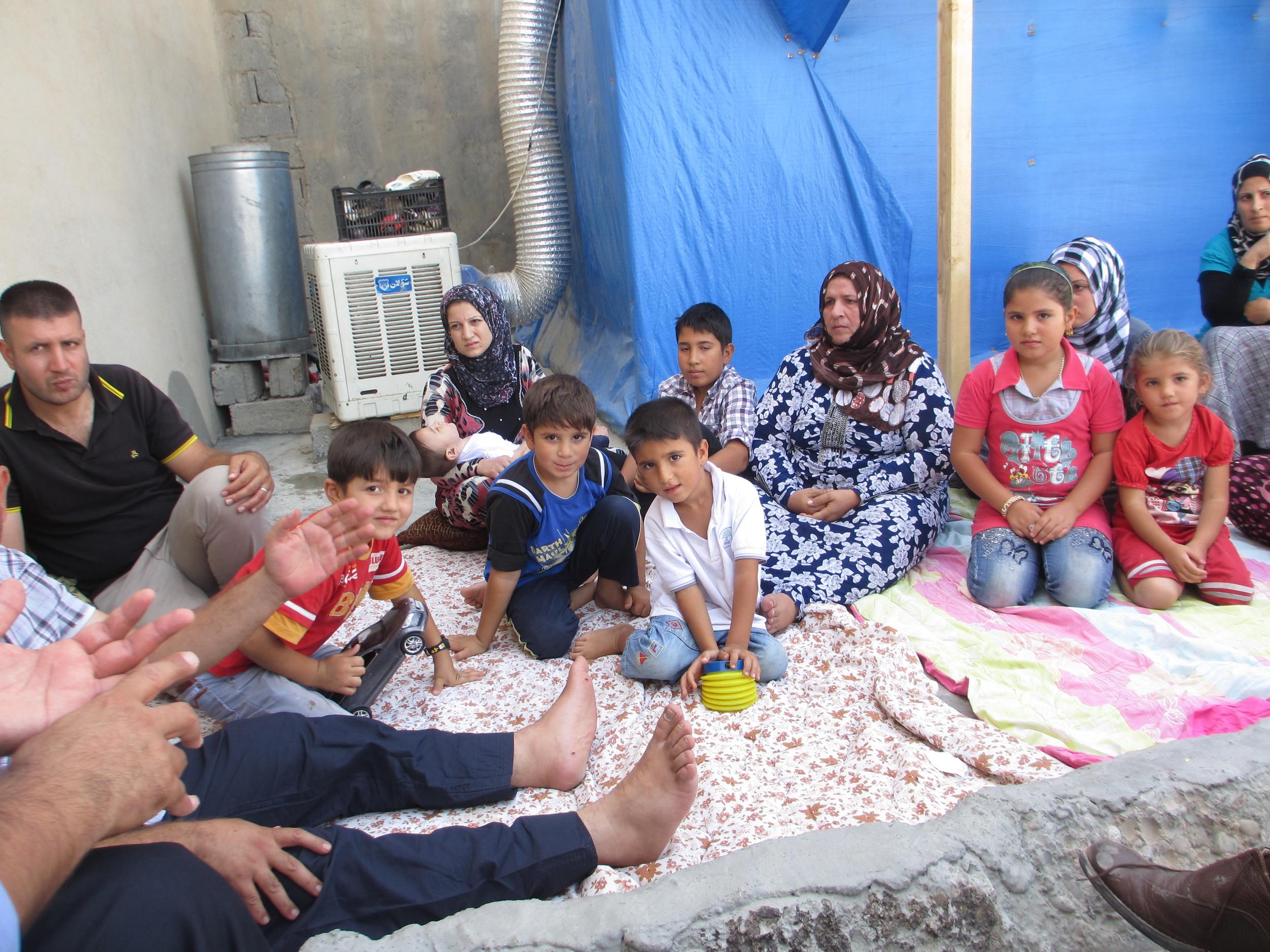 Syrian refugee family 2.JPG