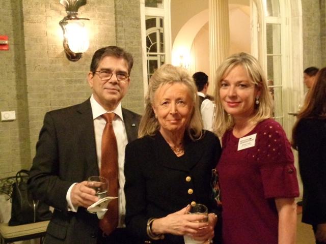 Michel Gabaudan, Hadassah Lieberman and Mariella Trager