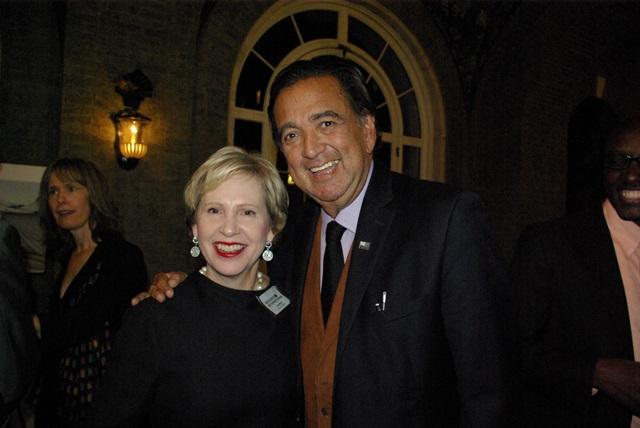 Lisa Barry and Governor Richardson