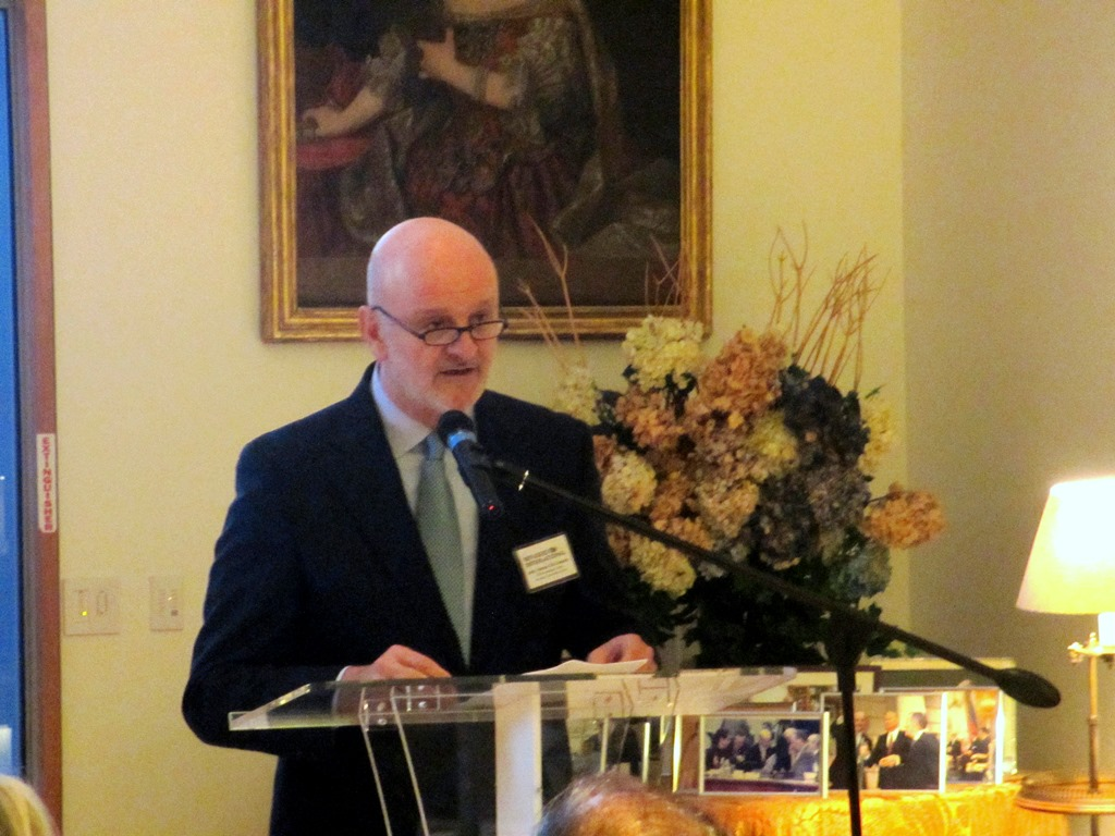 His Excellency The Ambassador of Spain, Ramon Gil-Casares