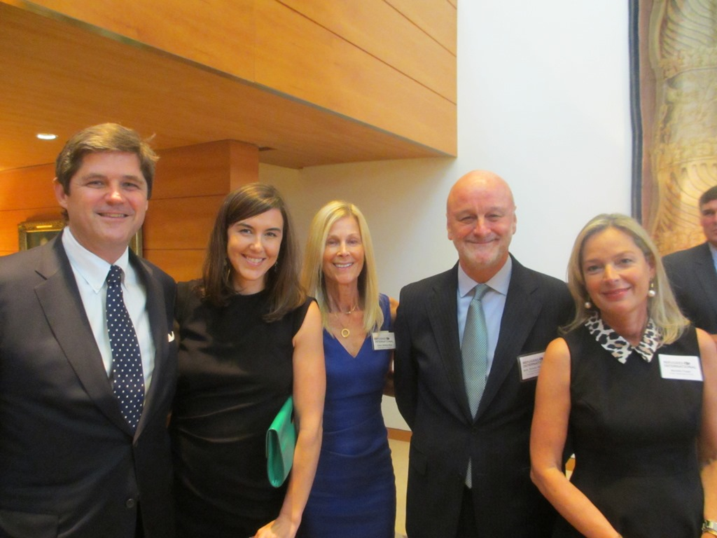 William and Anne Smith, Eileen Shields-West, Ambassador Ramon Gil-Casares and Washington Circle Chair Mariella Trager