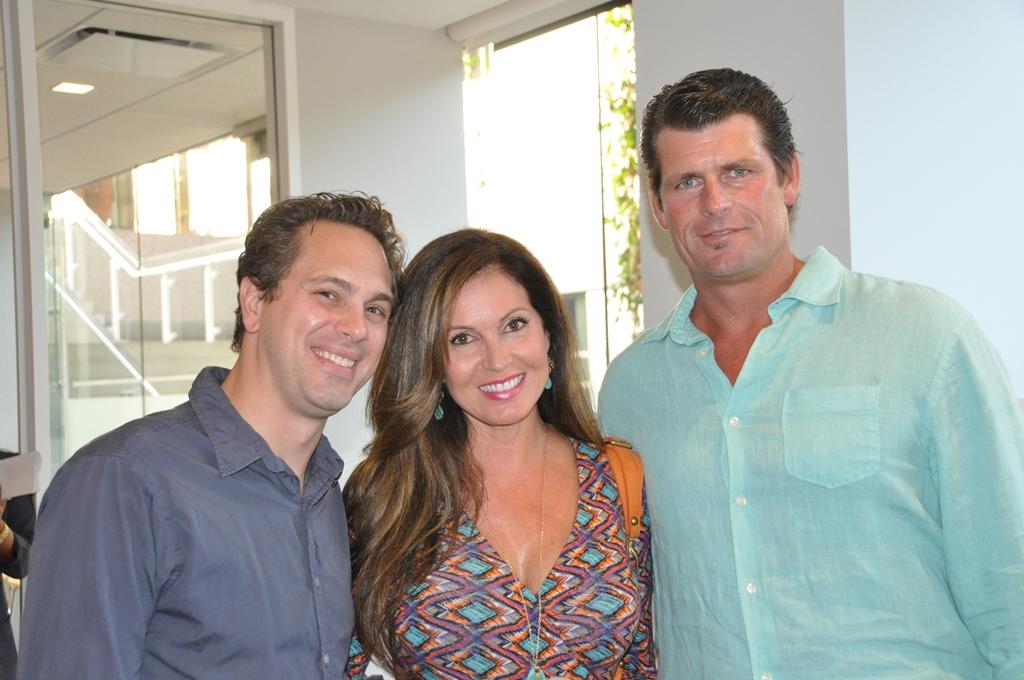 Thomas Sadoski, Lisa Guerrero, and Scott Erickson