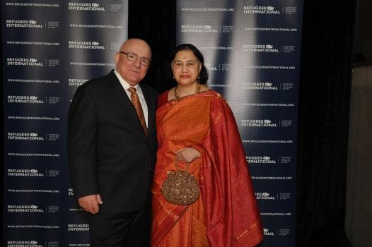 RI Board Member Nina Saglimbeni and husband Dino