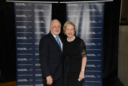 James Gale and RI Board Member Lisa Barry
