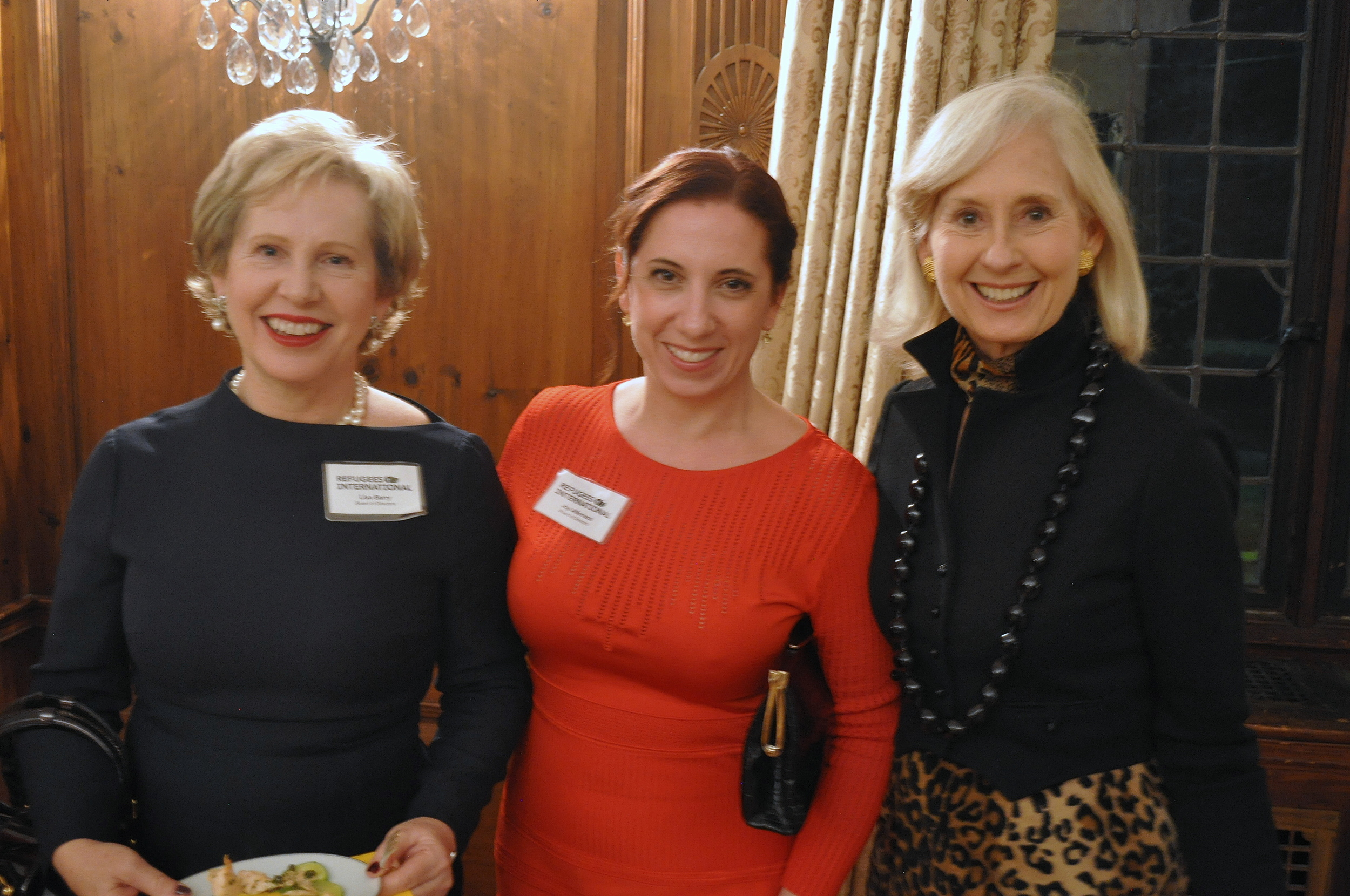 RI Board Members Lisa Barry and Joy Alferness with Willee Lewis.