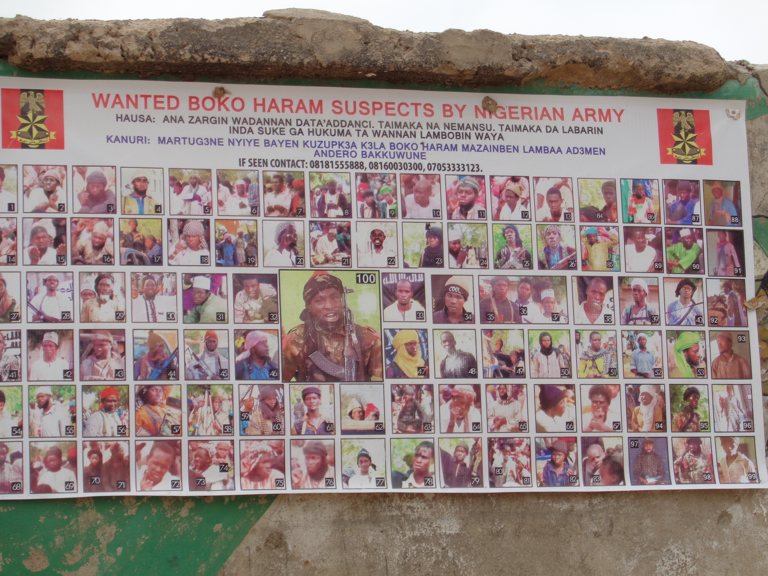 """Even though the Nigerian government has said that Boko Haram has been """"technically"""" defeated in the northeast, the group continues to attack villages and threaten security in the region."""