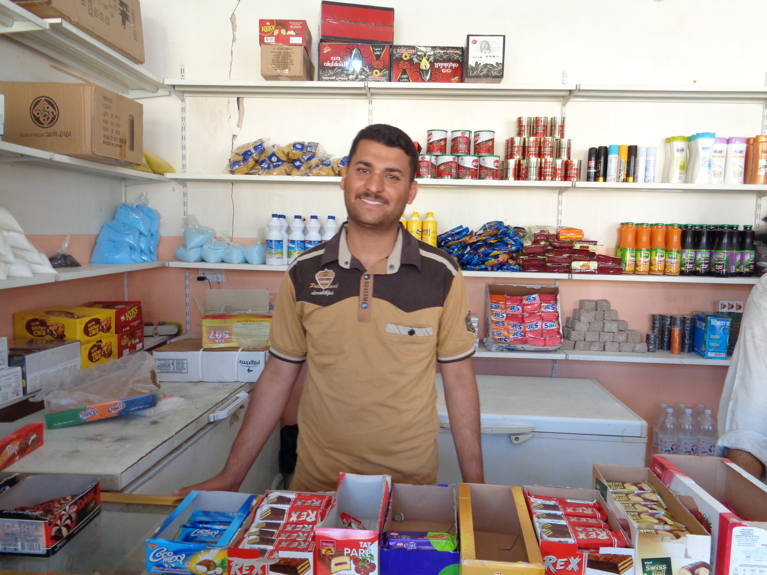 "Khaled* returned home with his cousin and is working to re-open their family's shop. They exhausted their savings after three years of displacement and have no choice but to buy supplies on credit. As one local resident told RI, ""Even if people fled the town with thousands of dollars, they are all coming home poor."""