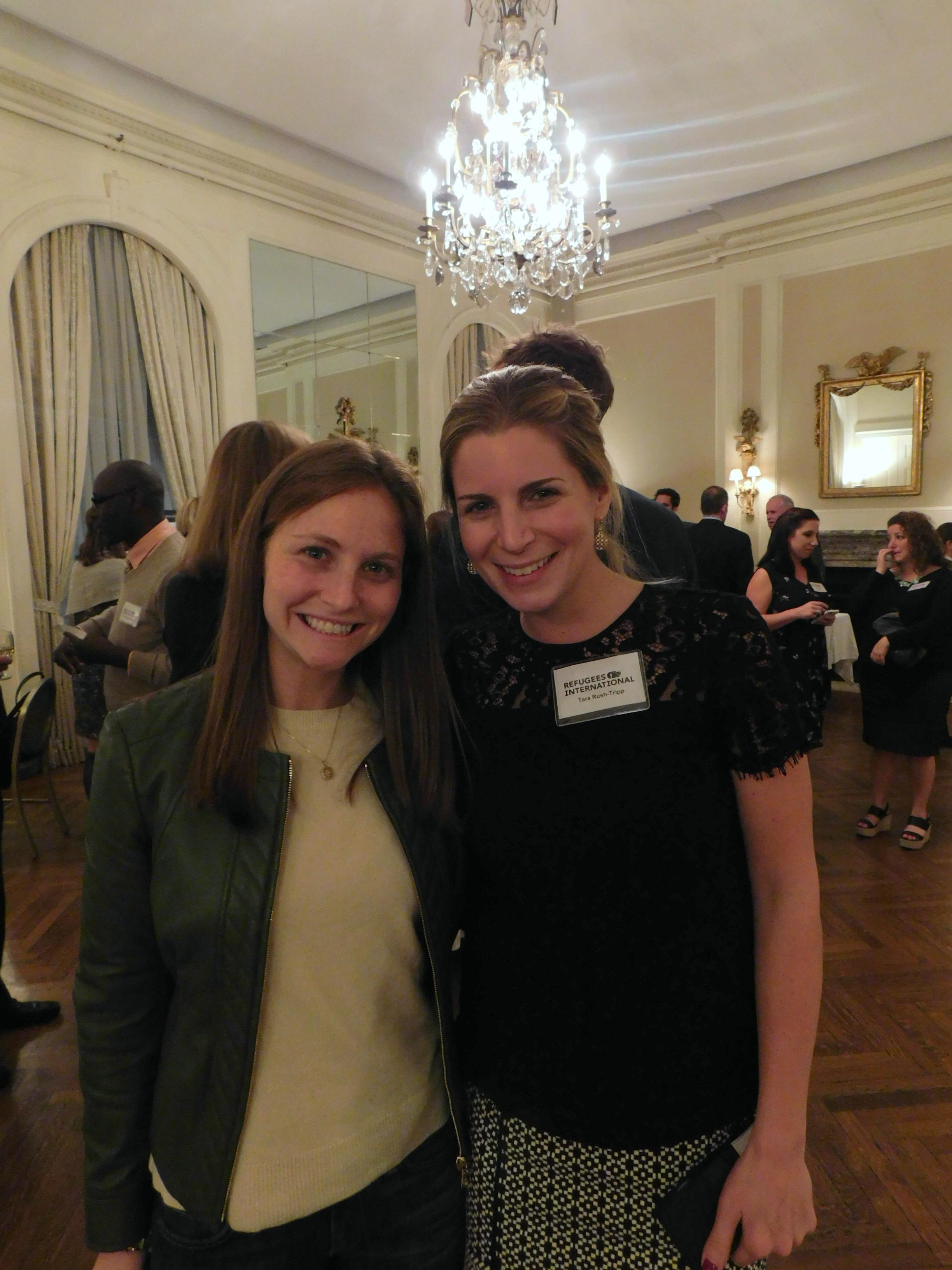 Dayna Adelman and Tara Rush-Tripp.