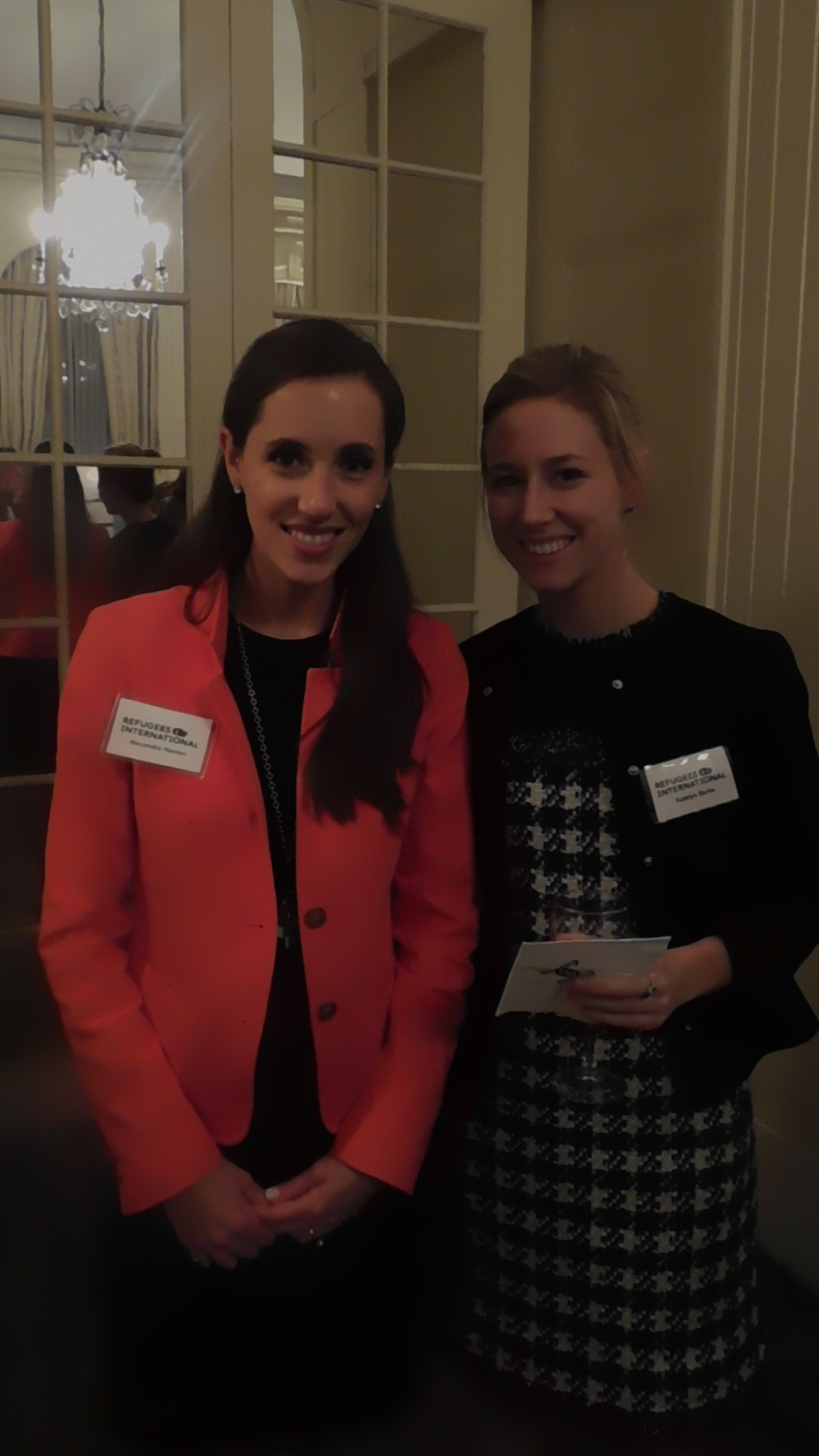 Alexandra Hanlon and Katelyn Burke
