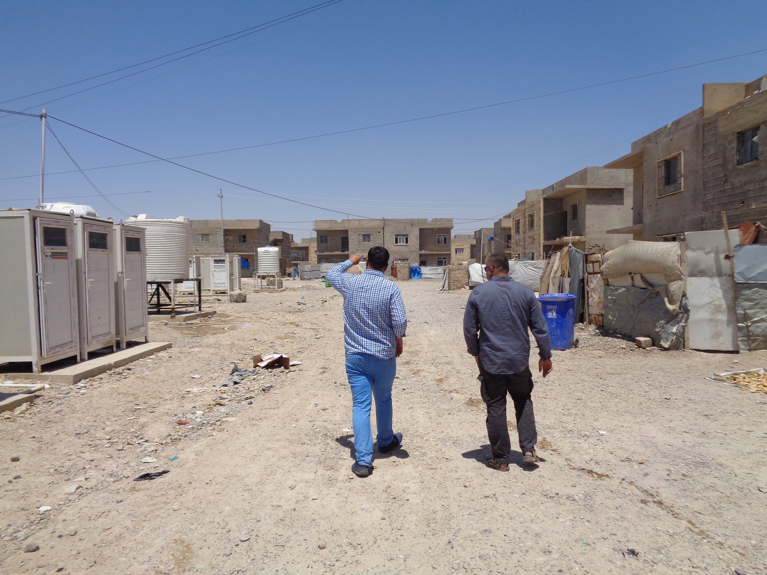More than 7,000 internally displaced Iraqis live in this camp in Salahaddin governorate in northern Iraq.
