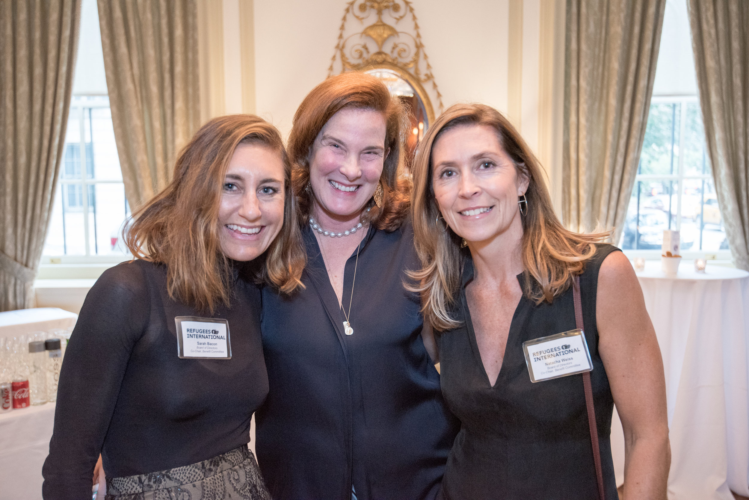 Sarah Bacon, Caroline Netchvolodoff, and Natasha Weiss served as the event's co-chairs.
