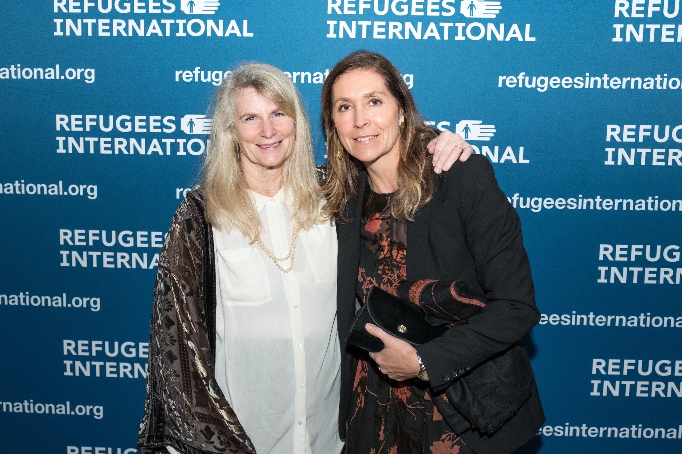 Board Members Jan Weil and Natacha Weiss