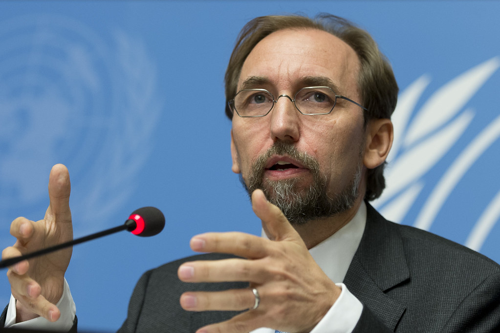"""Press Conference of the High Commissioner for Human Rights""    by    UN Geneva    is licensed under    CC BY-NC-ND 2.0"