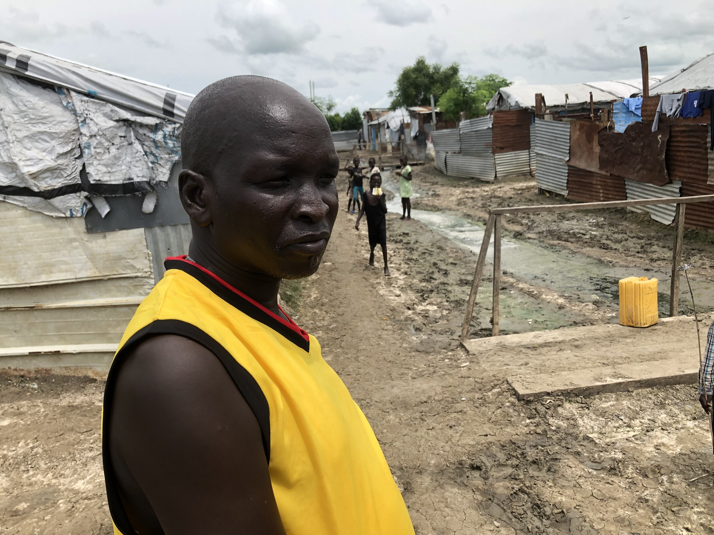 John used to work for an NGO within the Malakal POC, but he no longer has a job.