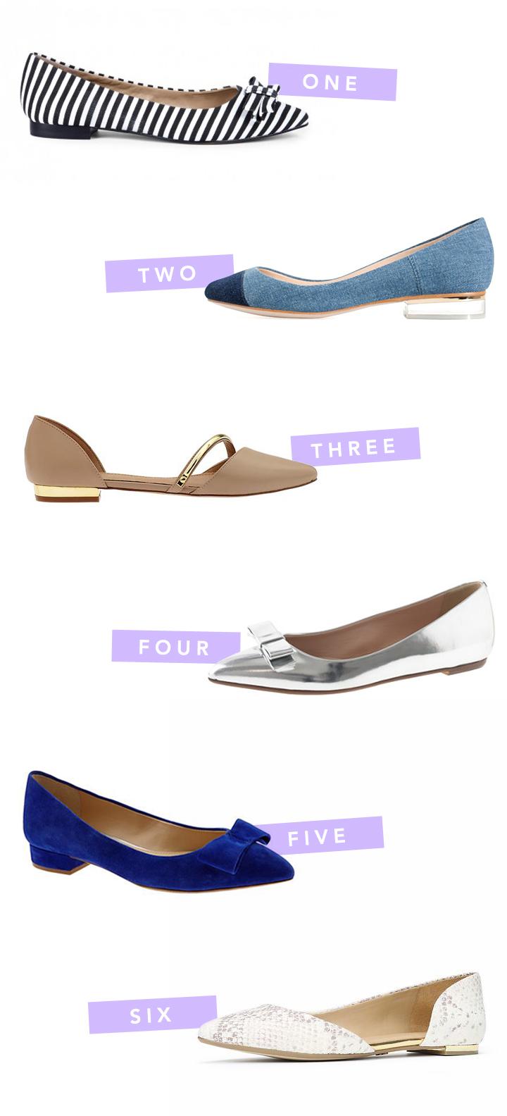 fancy feet | flats!