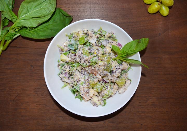 herbed quinoa chicken salad