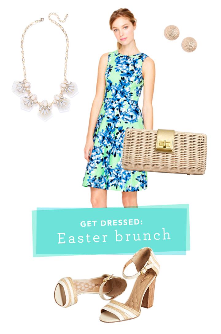 get dressed | easter brunch